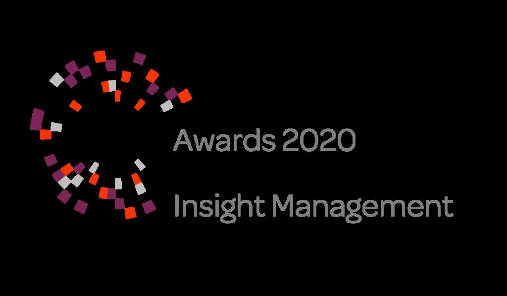 MRS, Awards 2020 Winner Insight Management, won by Desicion Technology LTD